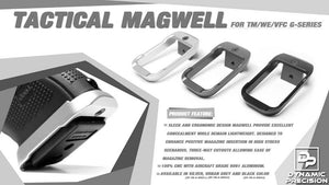 DP Tactical Magwell (Type A) For MARUI/WE/VFC G-Series (Silver)