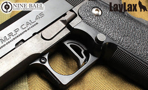 Nine Ball (Gamma) Straight Trigger For Marui Hi-Capa / M1911 / M45A1 GBB (Black)