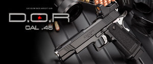 Tokyo Marui DOR (Direct Optics Ready) Gas BlowBack Pistol