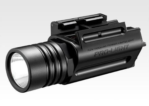 Tokyo Marui Rechargeable 2-Way AEP/LED Pro-Light (200 Lumen)