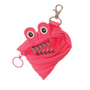 Zipit Grillz Monster Coin Purse (Pink)