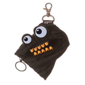 Zipit Grillz Monster Coin Purse (Black)