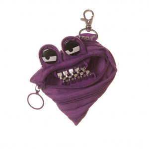 Zipit Grillz Monster Coin Purse (Purple)