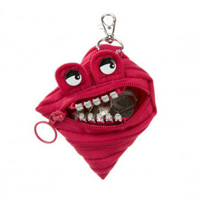 Zipit Grillz Monster Coin Purse (Red)