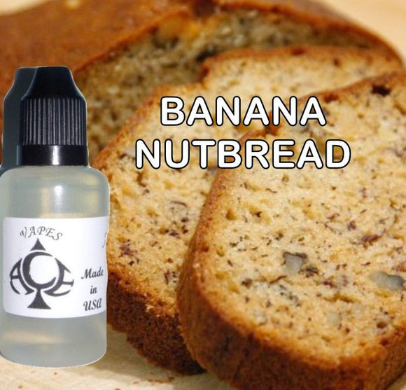 * BANANA NUTBREAD * E-Liquid Vape Fluid Juice - Choose your Nicotine Level, PG/VG mix & bottle size