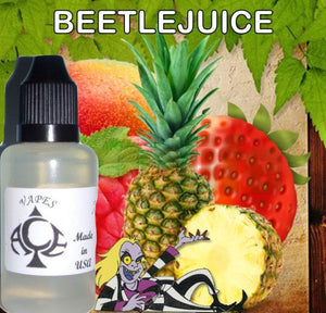 * BEETLEJUICE * E-Liquid Vape Fluid Juice - Choose your Nicotine Level, PG/VG mix & bottle size