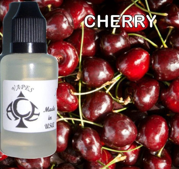 BLACK CHERRY - E-LIQUID - 10-120ML - PICK SIZE - ZERO NICOTINE