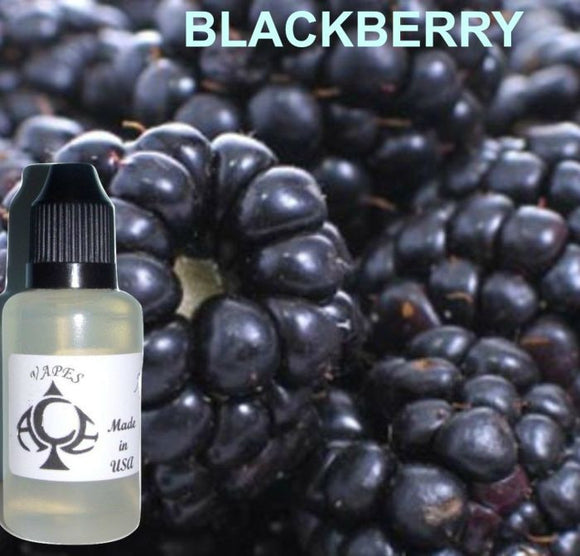 * BLACKBERRY * E-Liquid Vape Fluid Juice - Choose your Nicotine Level, PG/VG mix & bottle size