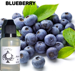 BLUEBERRY - E-LIQUID - 10-120ML - PICK SIZE - ZERO NICOTINE