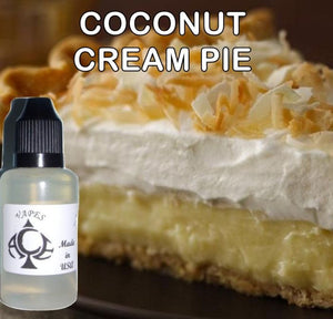COCONUT CREAM PIE - E-LIQUID - 10-120ML - PICK SIZE - ZERO NICOTINE