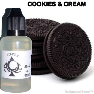 COOKIES & CREAM - E-LIQUID - 10-120ML - PICK SIZE - ZERO NICOTINE