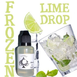 FROZEN LIME DROP - E-LIQUID - 10-120ML - PICK SIZE - ZERO NICOTINE