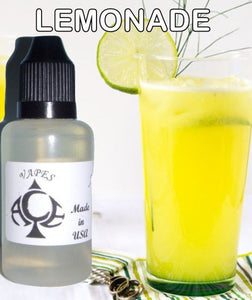 * LEMONADE * E-Liquid Vape Fluid Juice - Choose your Nicotine Level, PG/VG mix & bottle size
