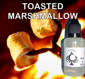 * TOASTED MARSHMALLOW * E-Liquid Vape Fluid Juice - Choose your Nicotine Level, PG/VG mix & bottle size