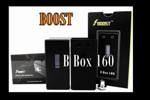**50% OFF ORIGINAL PRICE**Boost B Box 160W Box MOD - Black