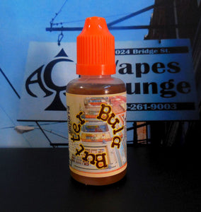 * BULA BUTTER..** NEW FLAVOR *  E-Liquid Vape Fluid Juice - Choose your Nicotine Level, PG/VG mix & bottle size