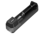 NITECORE UL1 Single-Bay Portable USB Battery Charger