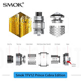 Smok TFV12 Prince Cobra Sub Ohm Tank - Colorway Edition