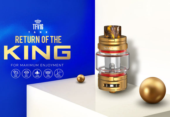 SMOK TFV16 Cloud Beast King Sub Ohm Tank | Return of the King