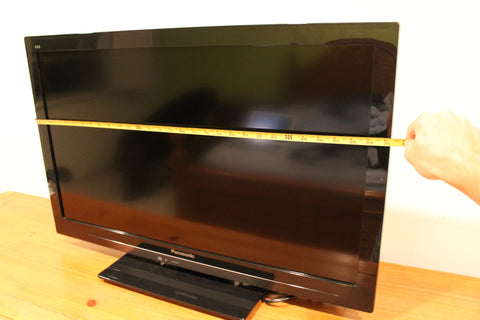 Measure the Width of Your TV
