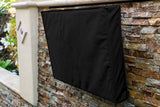 Outdoor TV Cover - Weatherproof Universal Protector for LCD, LED, Plasma Television Screens. Built In Bottom Seal and Remote Storage. Compatible with Standard Mounts and Stands
