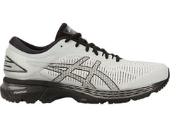 Asics Men's GEL-Kayano 25 in Glacier Grey/Black