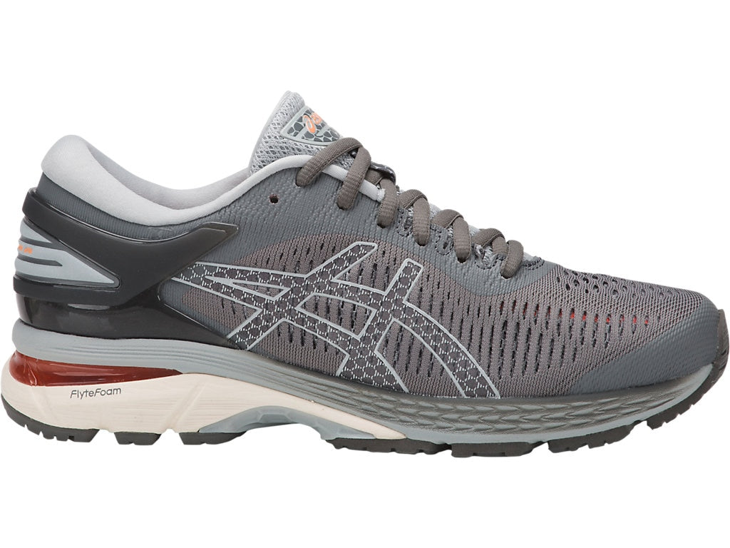 Asics Women's GEL-Kayano 25 in Carbon/Mid Grey