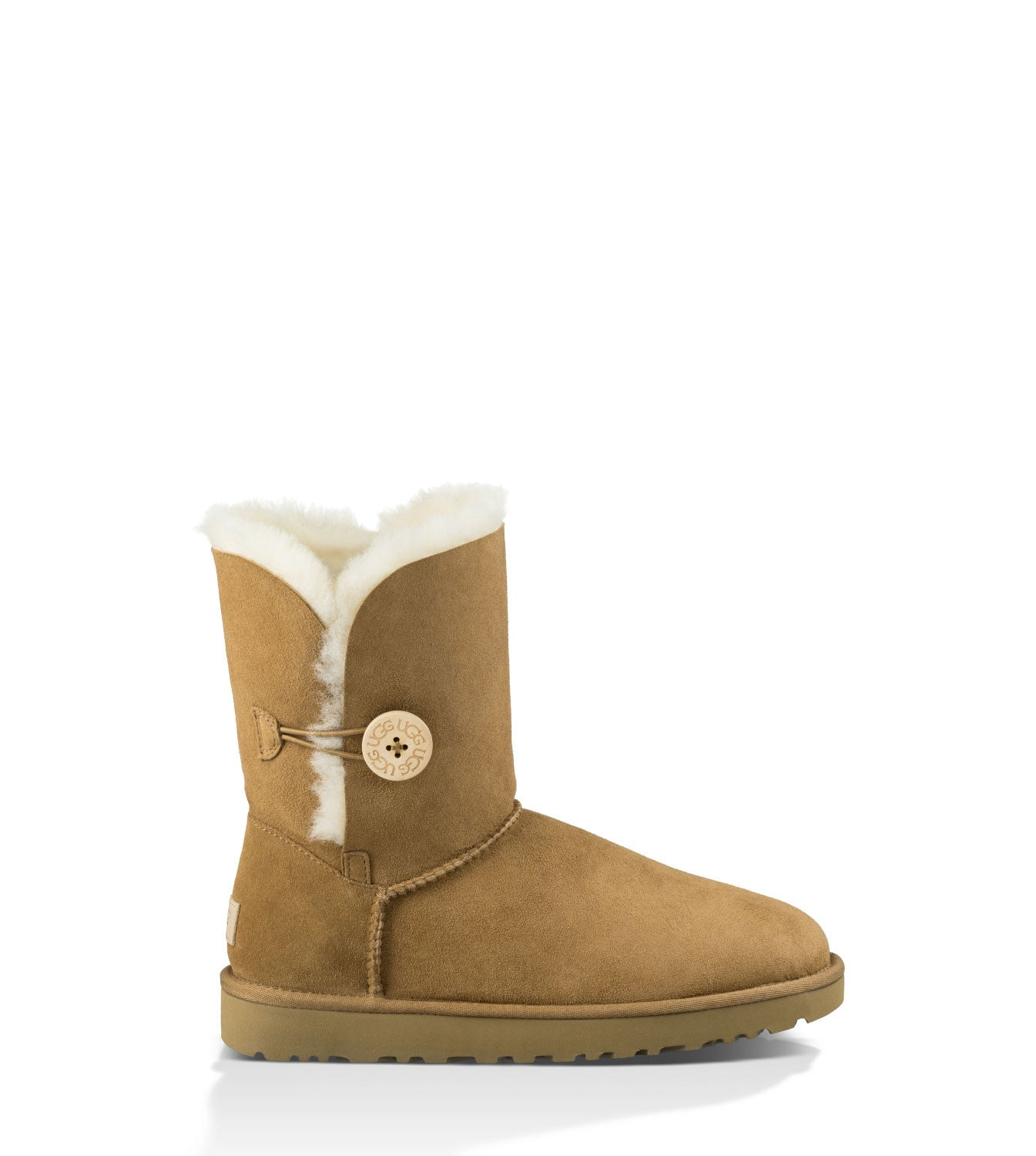 UGG Australia Women's Bailey Button II in Chestnut