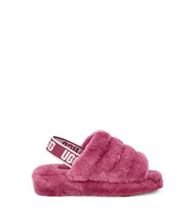 UGG Women's Fluff Yeah Slide in Bougainvillea