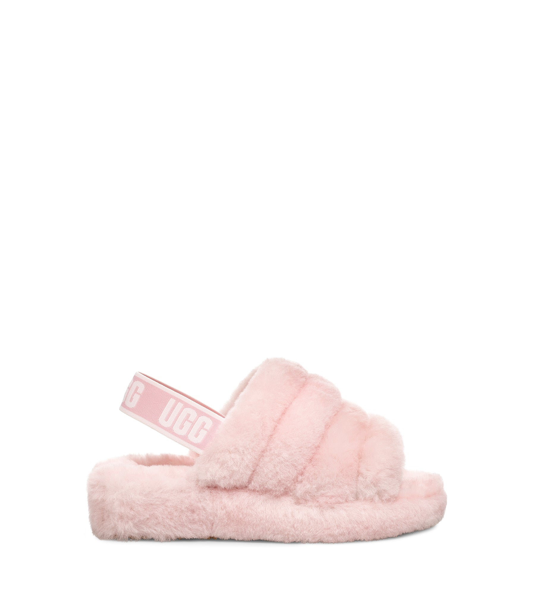 3ce27695409 UGG Women's Fluff Yeah Slide in Seashell Pink – Welcome to ...