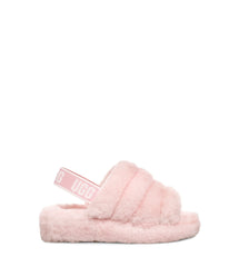 UGG Women's Fluff Yeah Slide in Seashell Pink