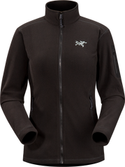 Arc'teryx Women's Delta LT Jacket in Black