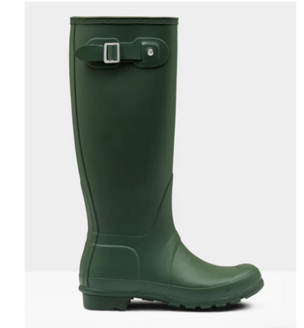 Hunter Women's Original Tall Rain Boot in Hunter Green