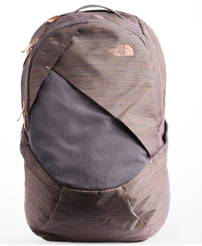 North Face Women's Isabella Backpack in Rabbit Grey Copper Melange