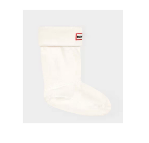 Hunter Short Boot Sock in Cream
