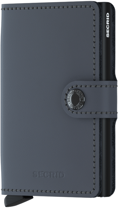 Secrid Miniwallet in Matte Grey-Black