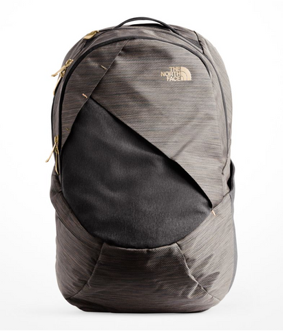 North Face Women's Isabella Backpack in TNF Black Brass Melange