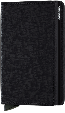 Secrid Slimwallet in Crisple Black