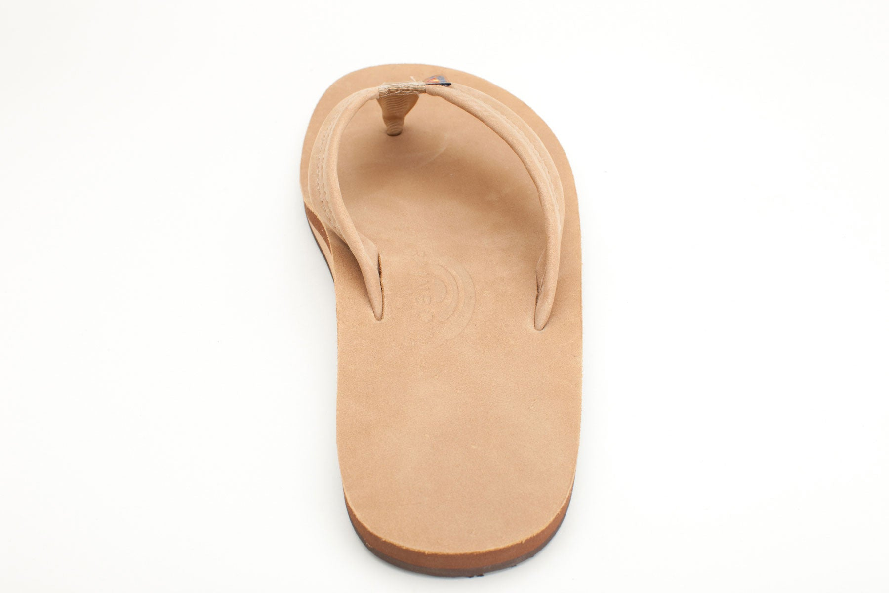 67399d7887cf Rainbow Sandals Men s Sierra Brown Premier Leather Single Layer with Arch  Support