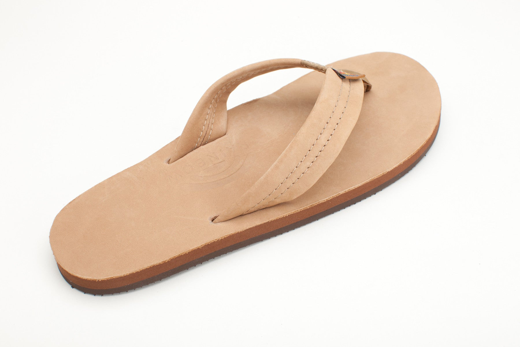 bb2cae5270ab Rainbow Sandals Women s Sierra Brown Premier Leather Single Layer with Arch  Support and a Wide Strap