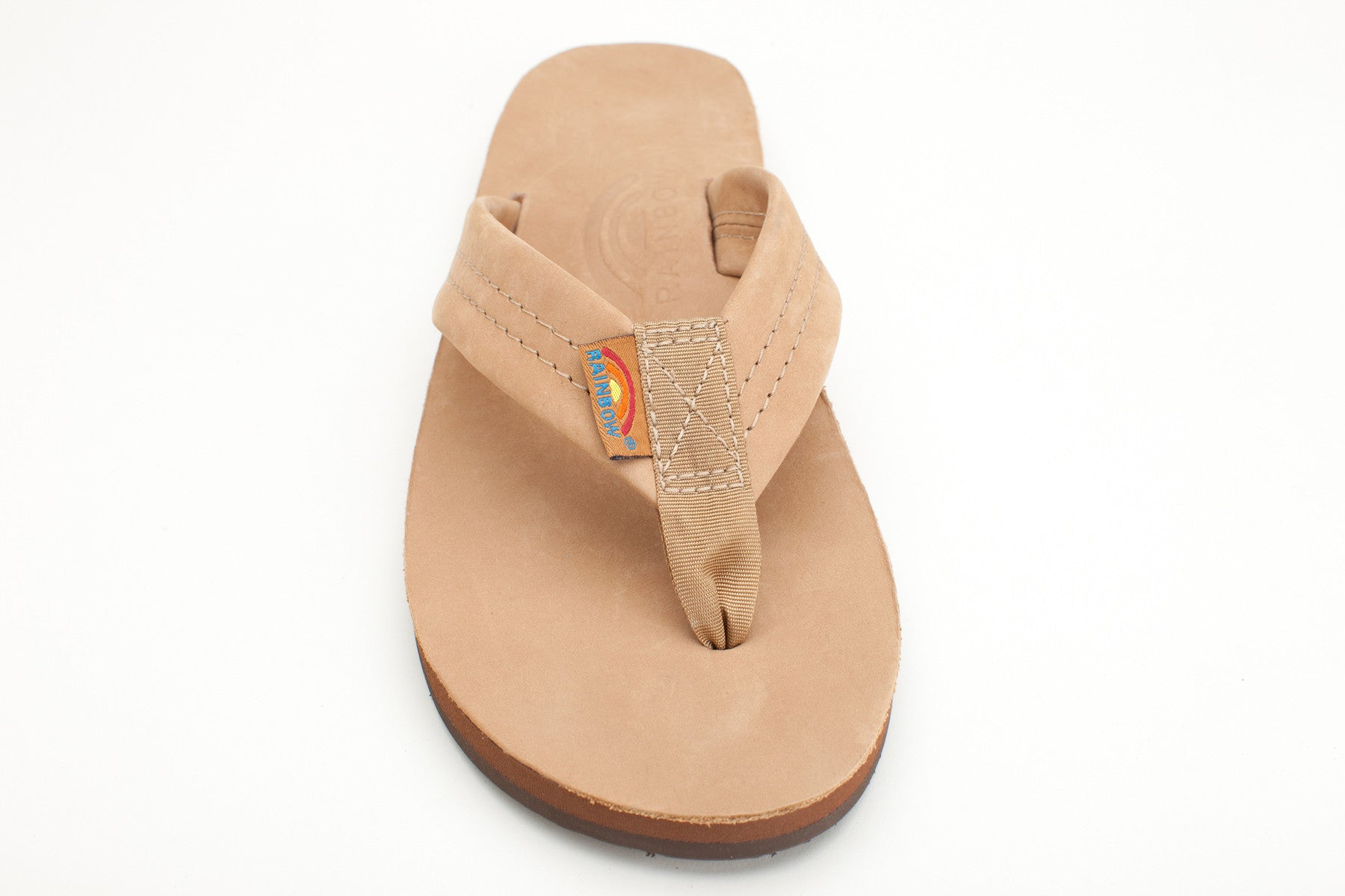 f2c72e93fdcf Rainbow Sandals Women s Sierra Brown Premier Leather Single Layer with Arch  Support and a Wide Strap