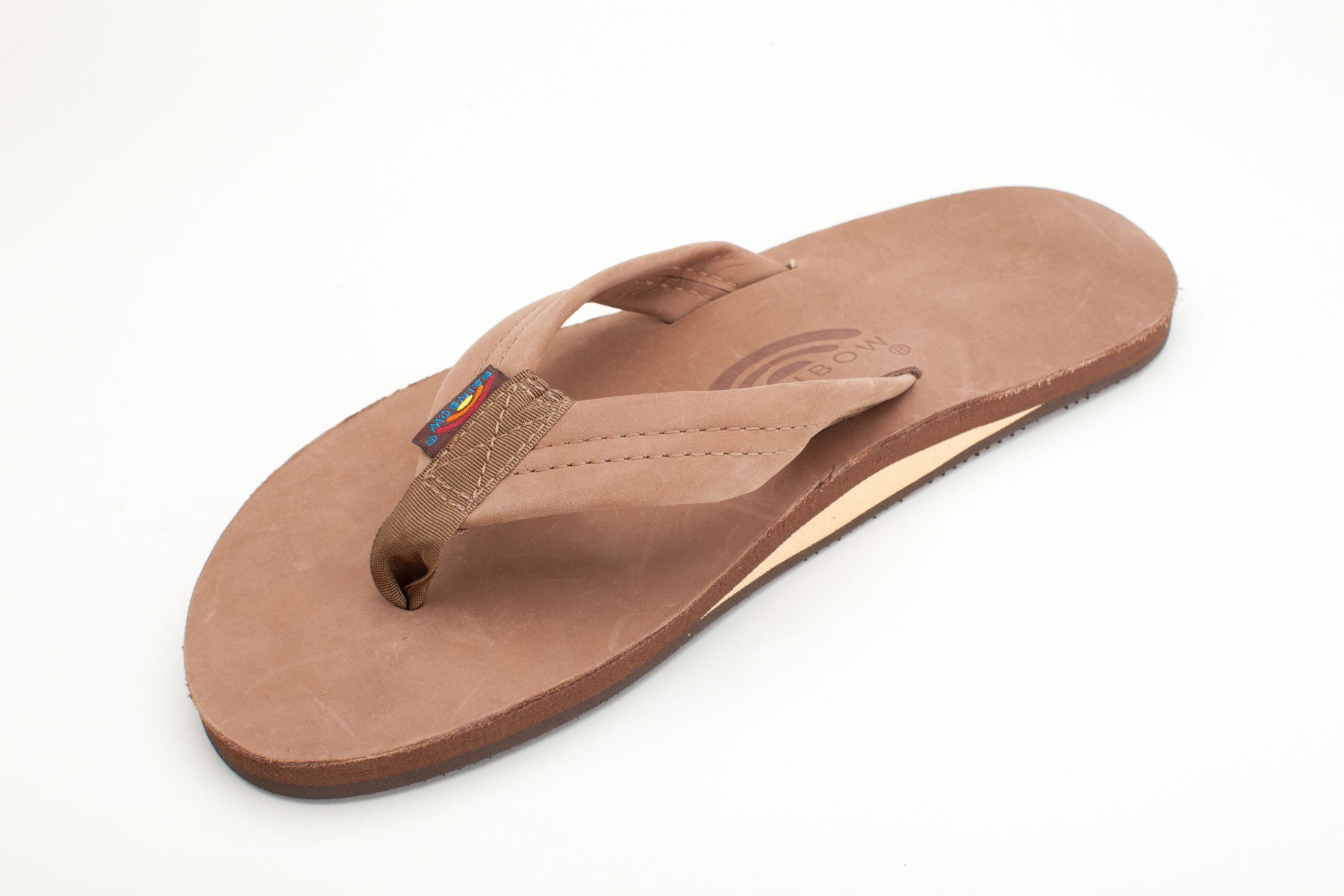 d7456e22e369 Rainbow Sandals Men s Dark Brown Premier Leather Single Layer with Arc –  Welcome to Footprint27.com