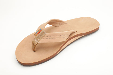 Rainbow Sandals Men's Sierra Brown Premier Leather Single Layer with Arch Support