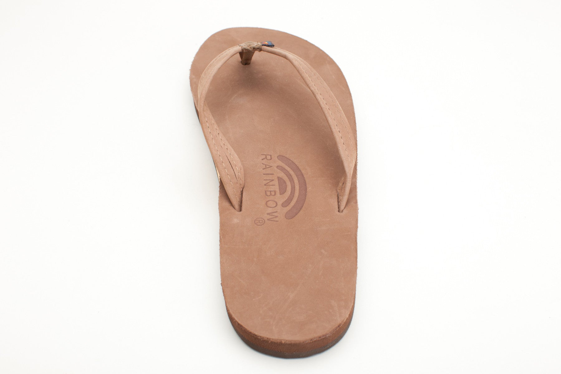 f59c8a8abf52 Rainbow Sandals Women s Dark Brown Premier Leather Single Layer with Arch  Support and a Narrow Strap