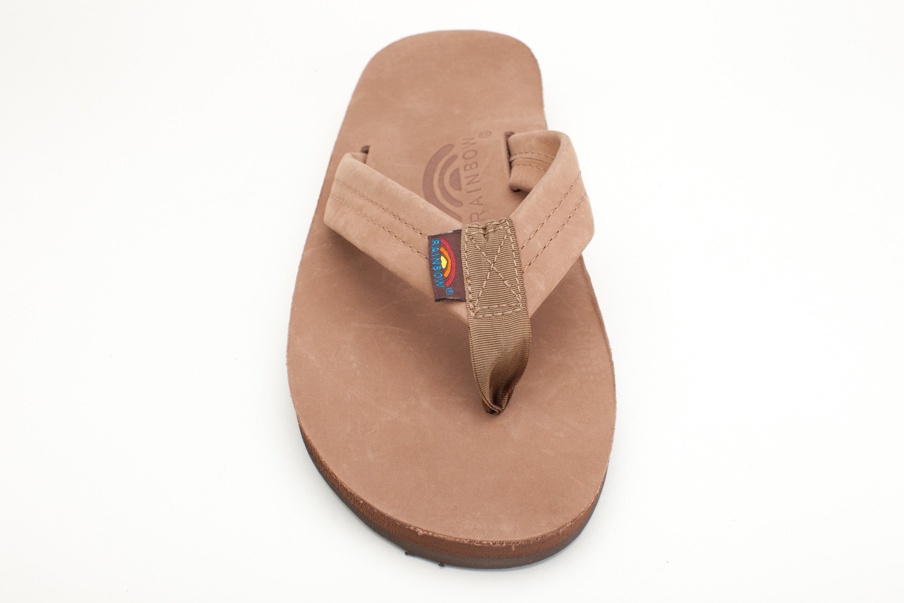 3519920ce Rainbow Sandals Men's Dark Brown Premier Leather Double Layer with Arch  Support