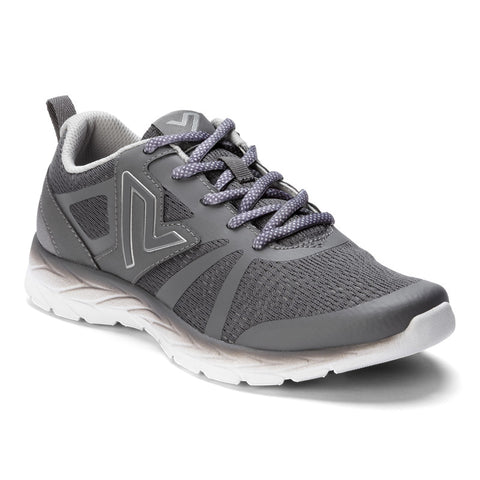 Vionic Women's Brisk Miles Lace Up in Grey