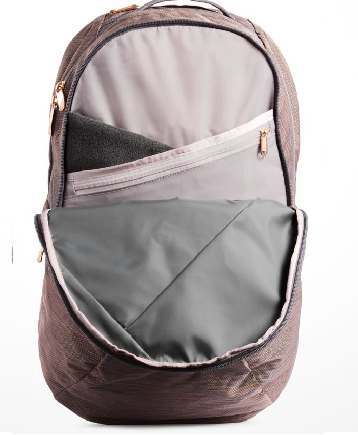 826e6143a North Face Women's Isabella Backpack in Rabbit Grey Copper Melange