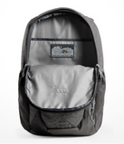 The North Face Men's Jester Backpack in TNF Dark Grey Heather/Persian Orange