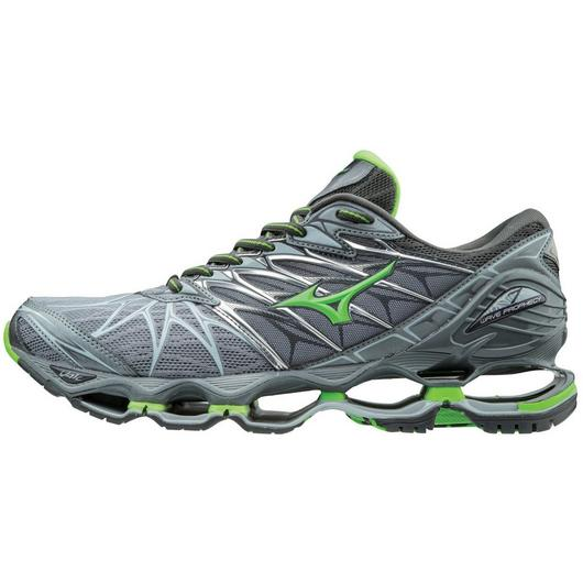Mizuno Men's Wave Prophecy 7 in Monument-Green Slime
