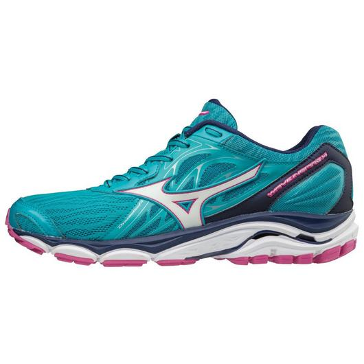 Mizuno Women's Inspire 14 in Peacock Blue-Fuchsia Purple